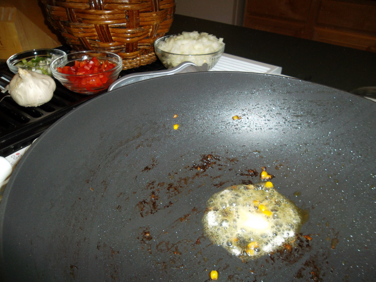 Melt remaining butter in the same skillet