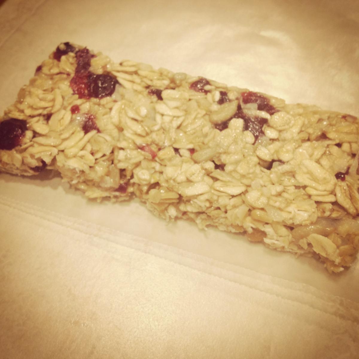 Home Made Granola Bar Snack