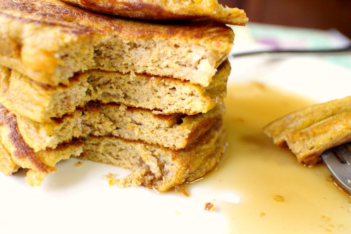 Paleo pumpkin pancakes.