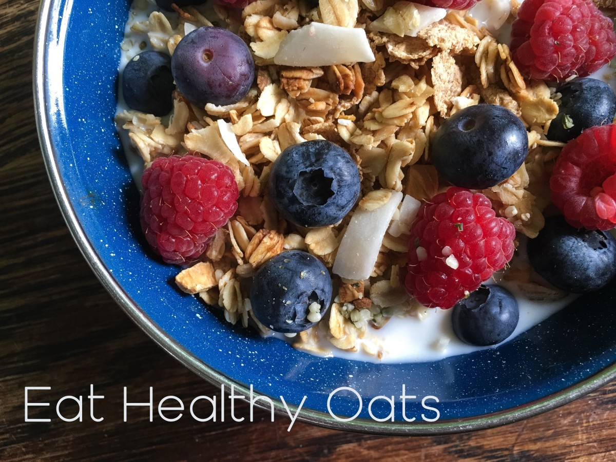 A healthy and filling breakfast starts with oats!