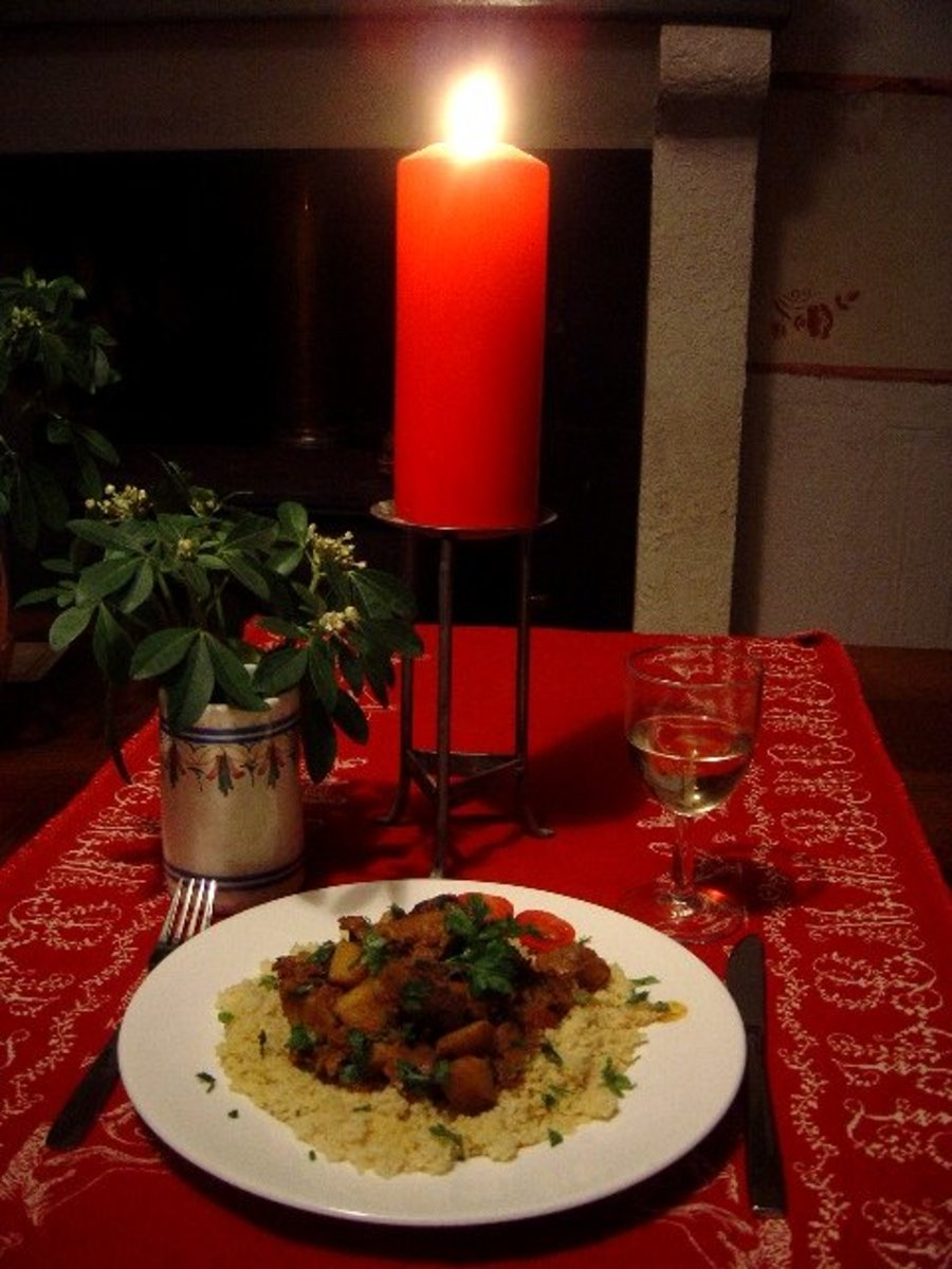 Serve the chicken gizzard curry with rice or couscous