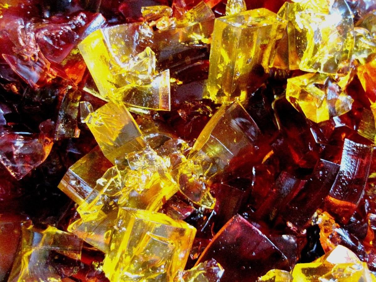 The joy of a jelly or jello dessert