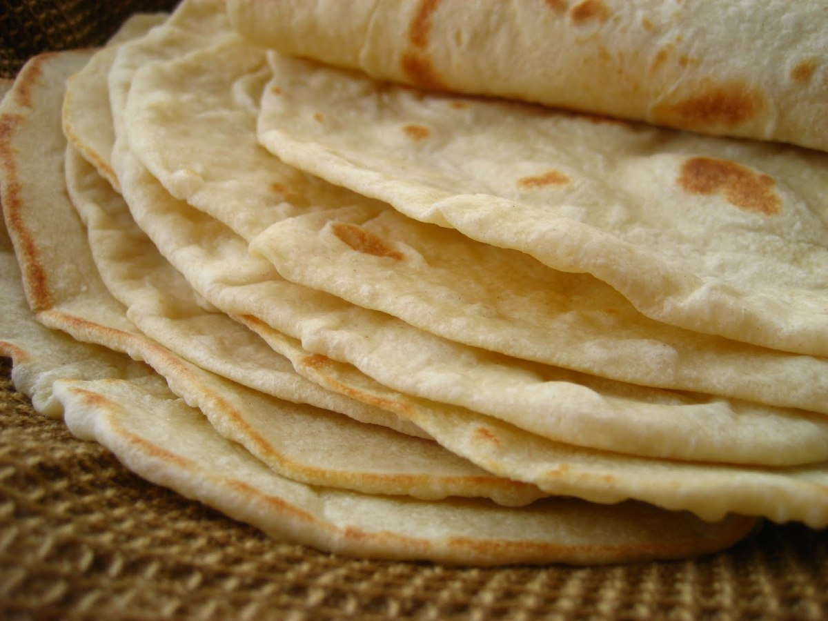If you're feeling crazy, make your own flour tortillas!