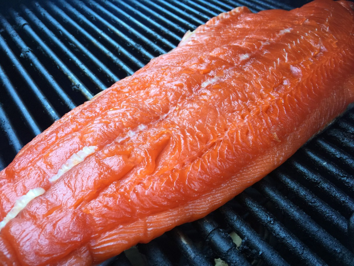 Salmon with Pellicle Formation