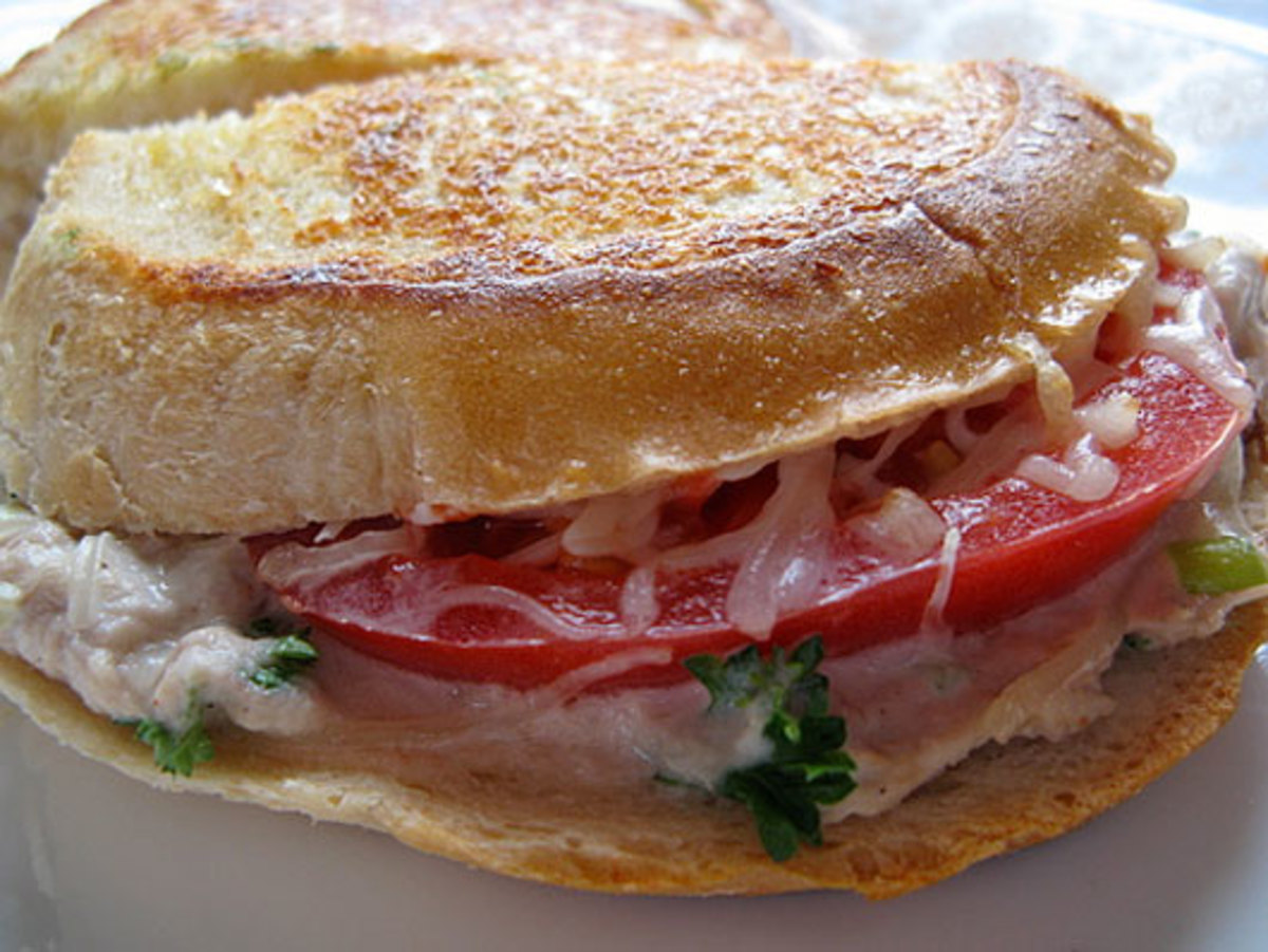 You can also pan-fry tuna sandwiches.