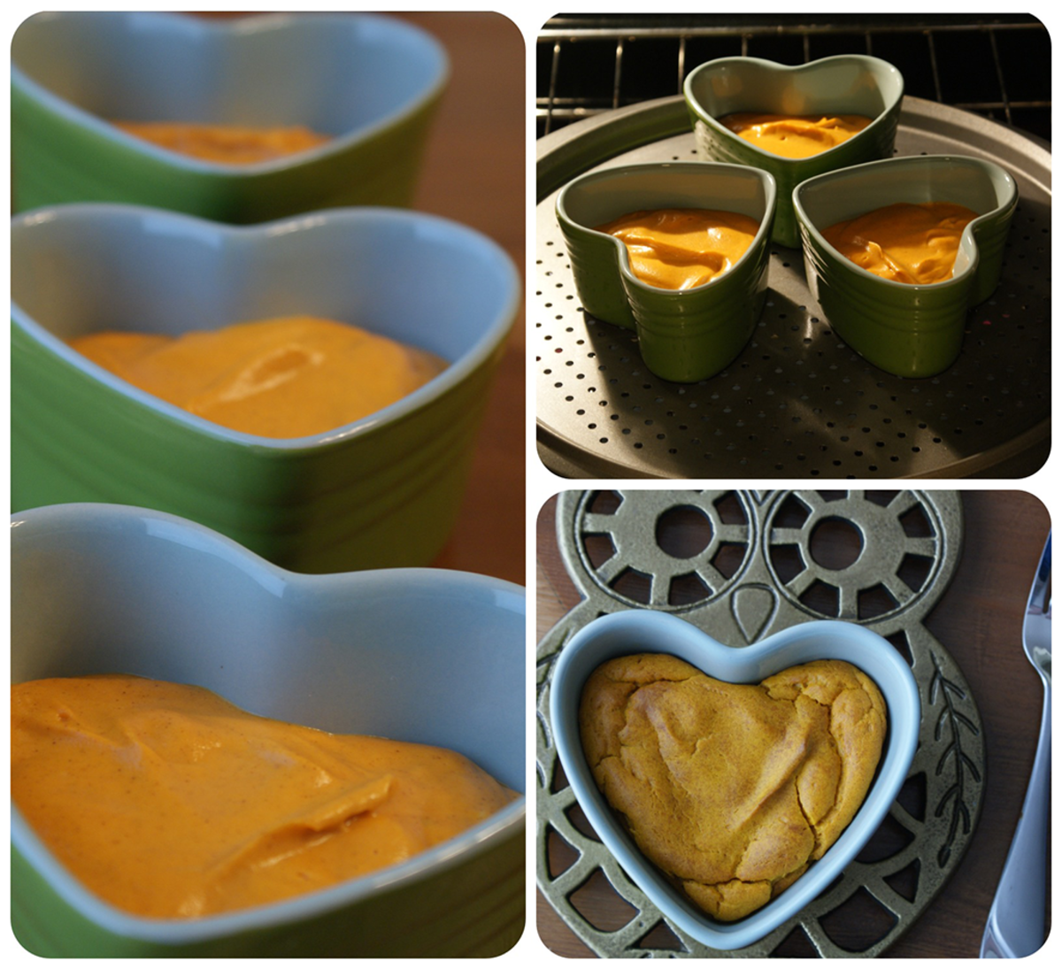 Carrot Side Dish in Souffle Cups