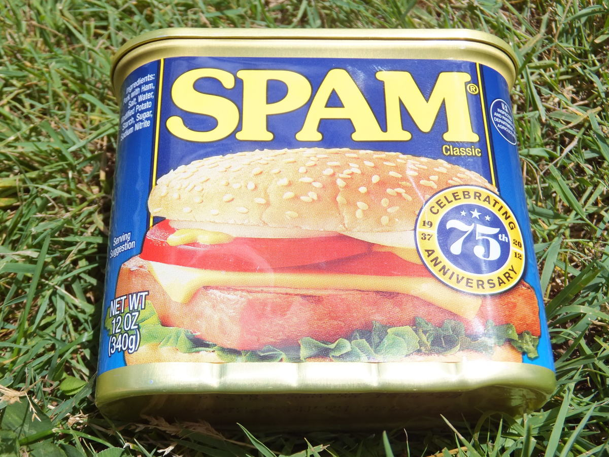 Who knows what danger lurks inside this can of SPAM?
