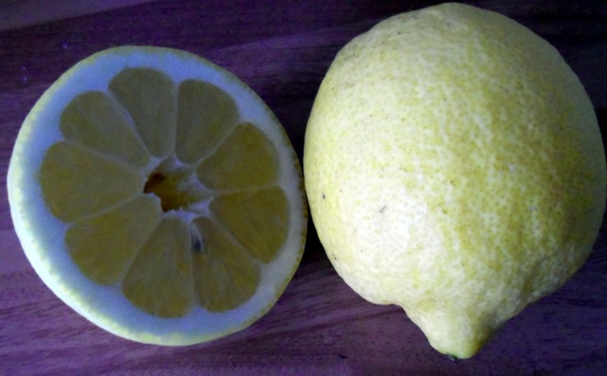 Use the zest and juice of nice, fresh lemons