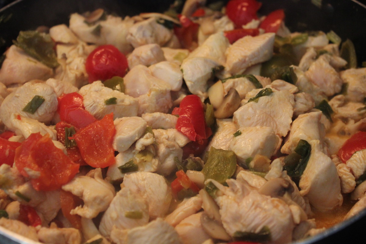 Utica's Chicken Riggies Recipe.
