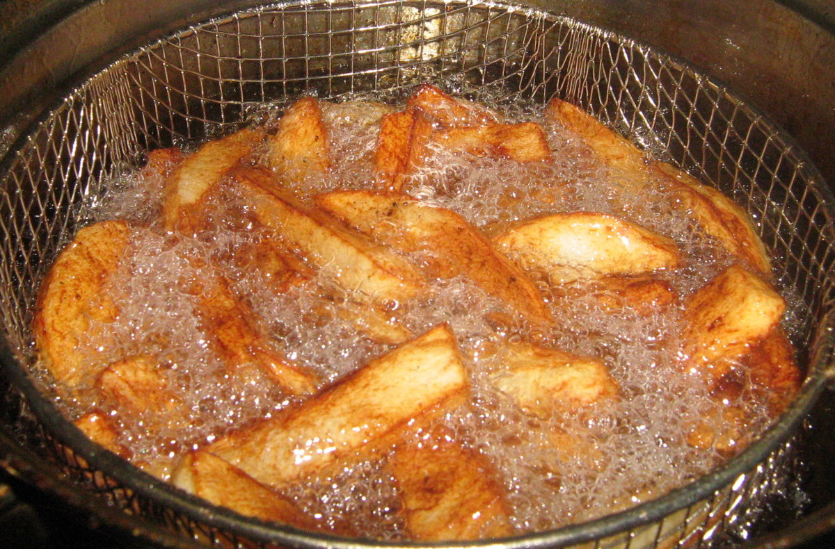 Homemade chips or fries