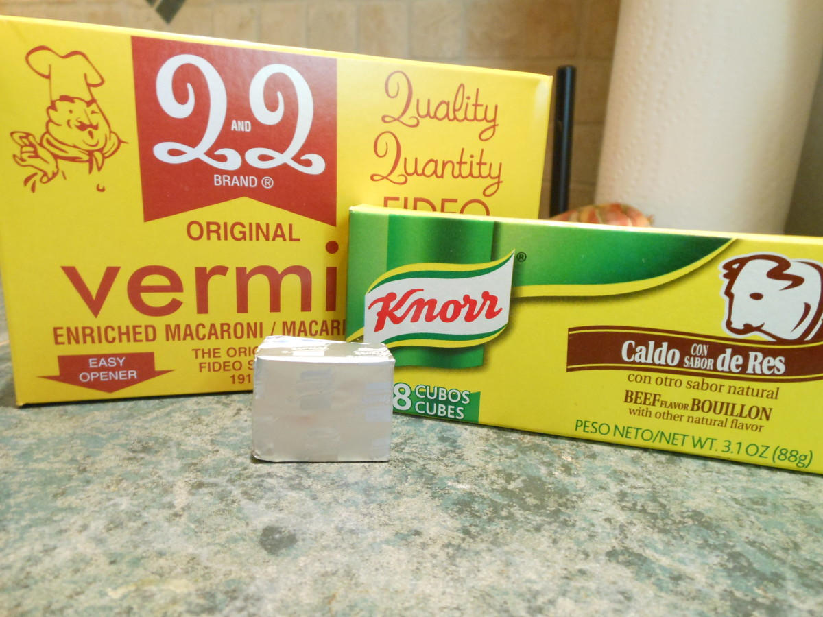 Add on cube of Knorr, beef bouillon to 2 cups of water. Bring to a boil in a saucepan or in the microwave.for 2 minutes.