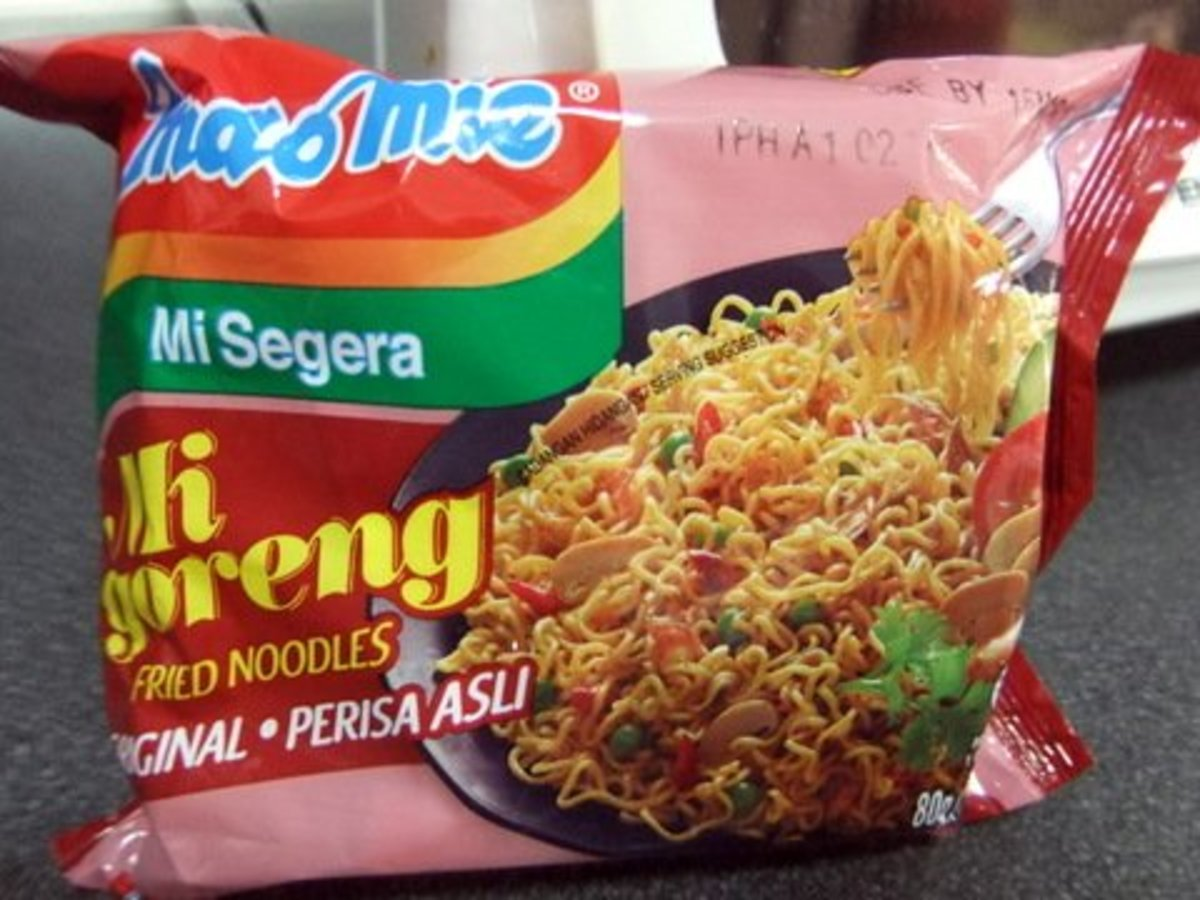 Instant Noodle that I used for the Fried Noodle Recipe