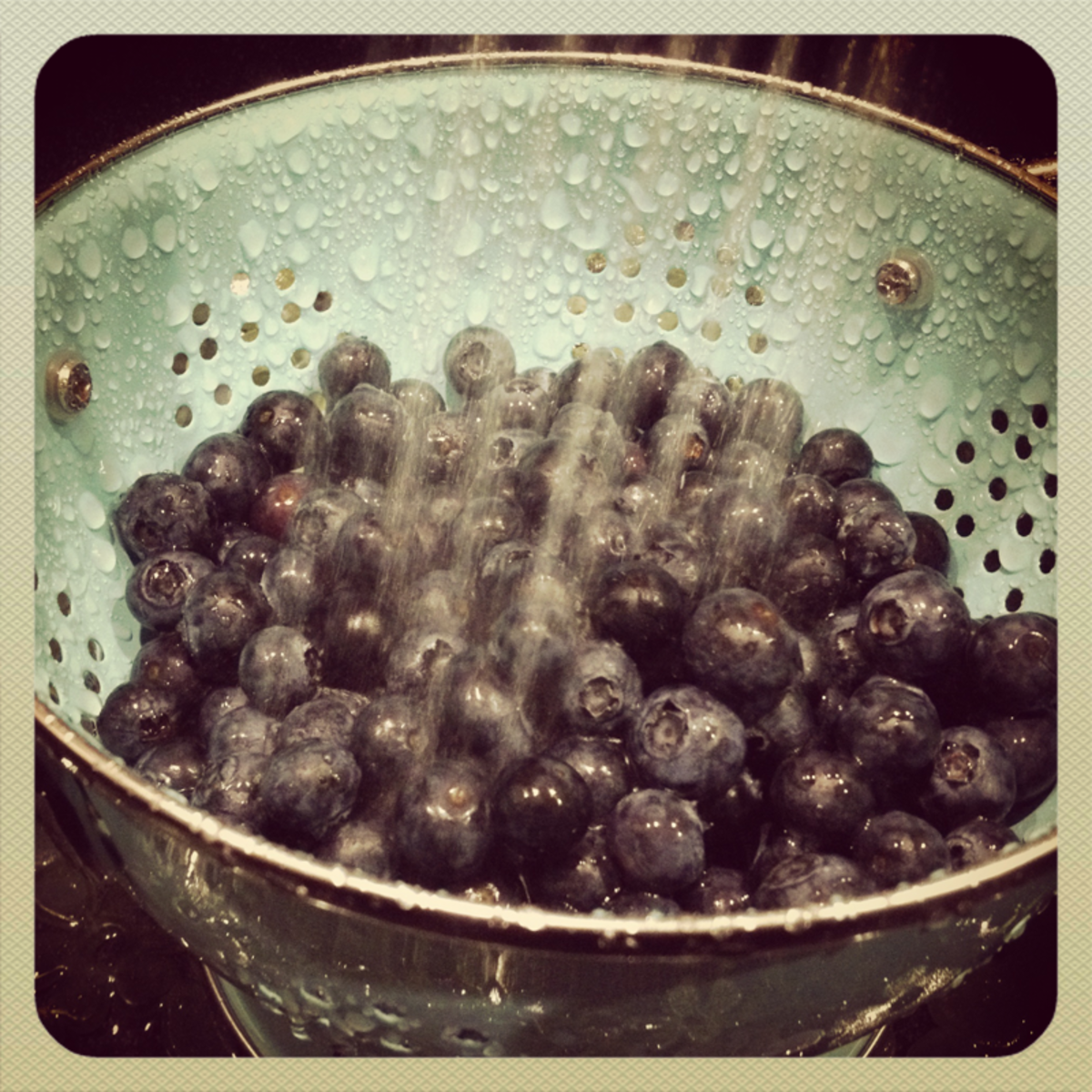Recipes with Berries-- Blueberries and Cream