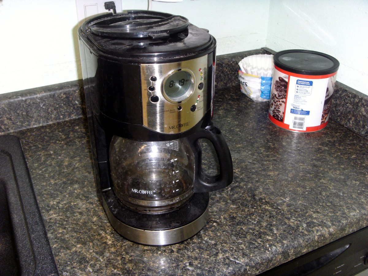 Easy Way To Clean A Coffee Maker : How To Clean A Coffee Maker - A Necessary Task Made Easy