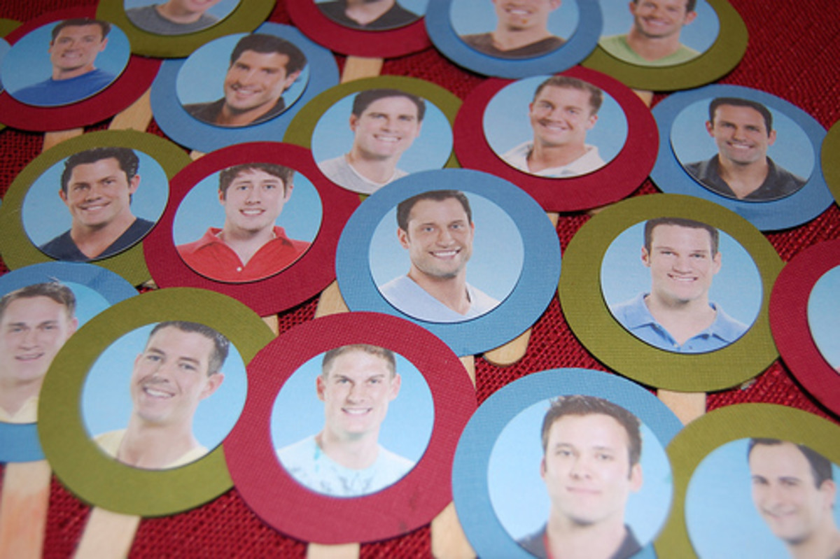 Kendall created cupcake toppers for The Bachelorette.