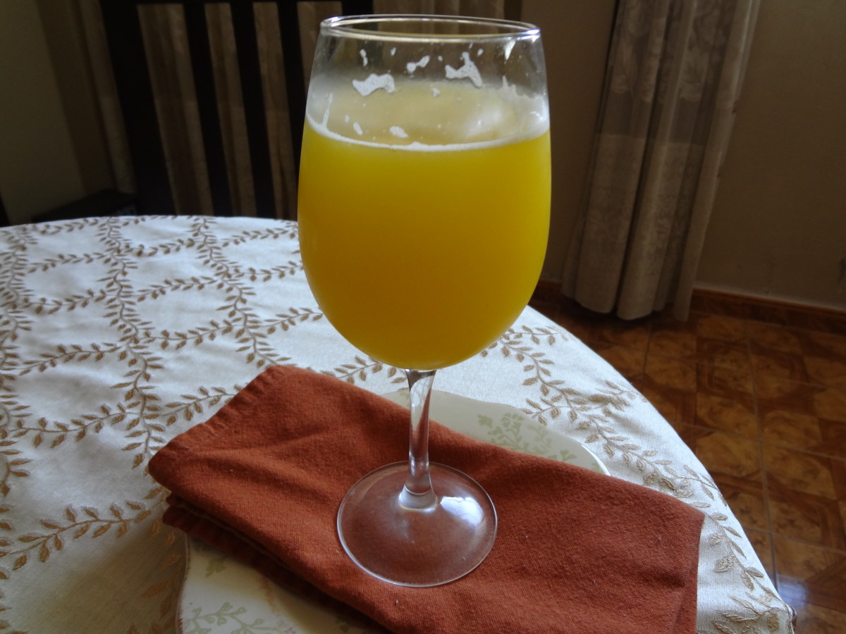 Tangy Mango Lemonade Recipe