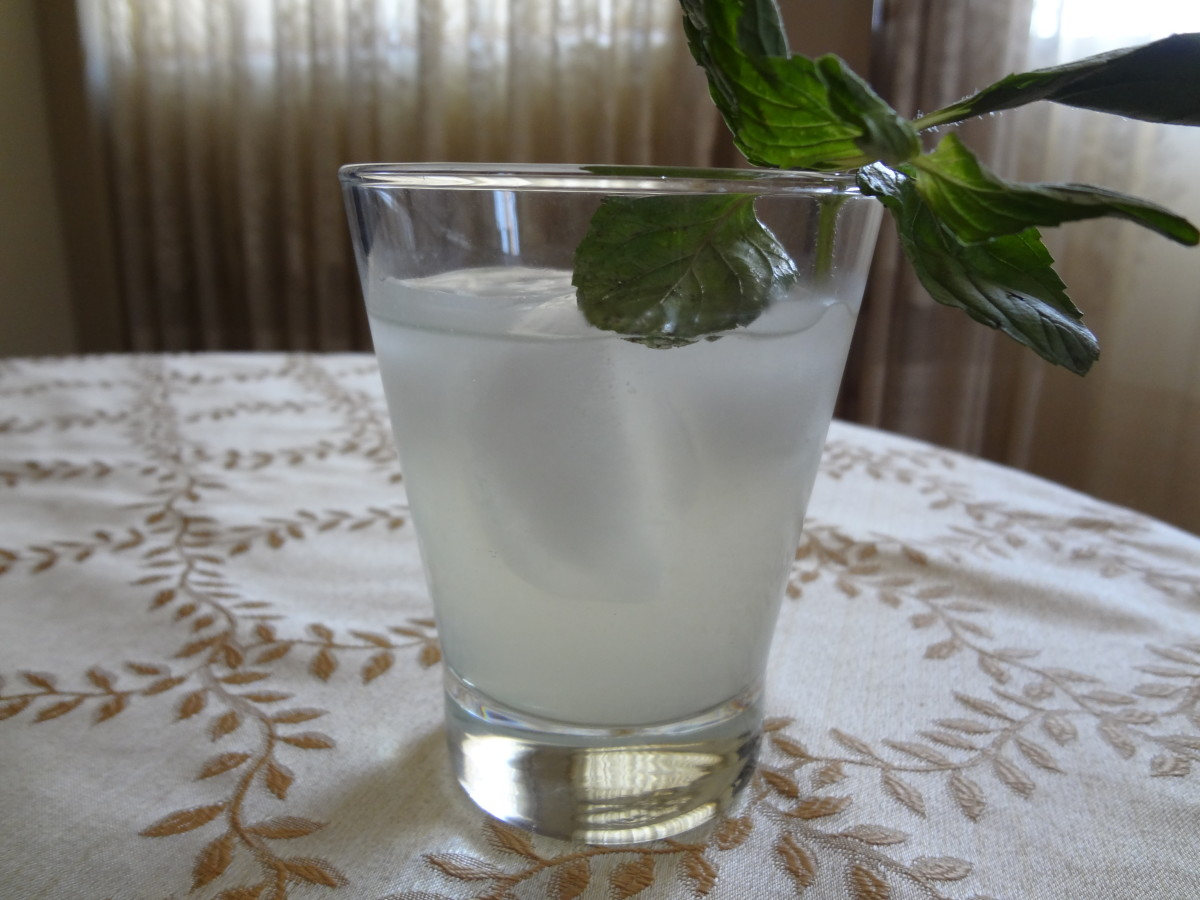 Serve with limeade ice cubes