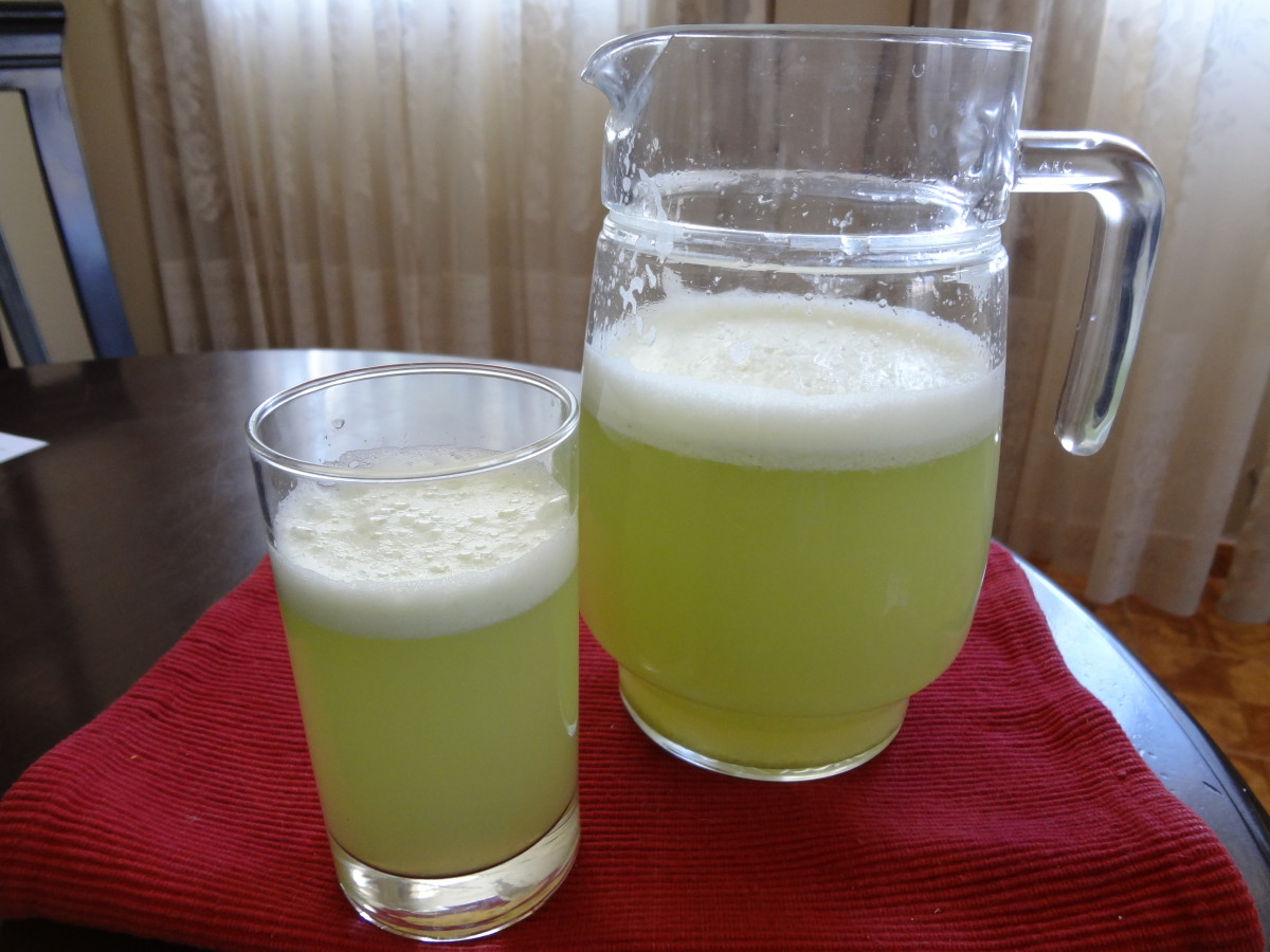 Peruvian Limeade: Quick, Easy and Low-Cal