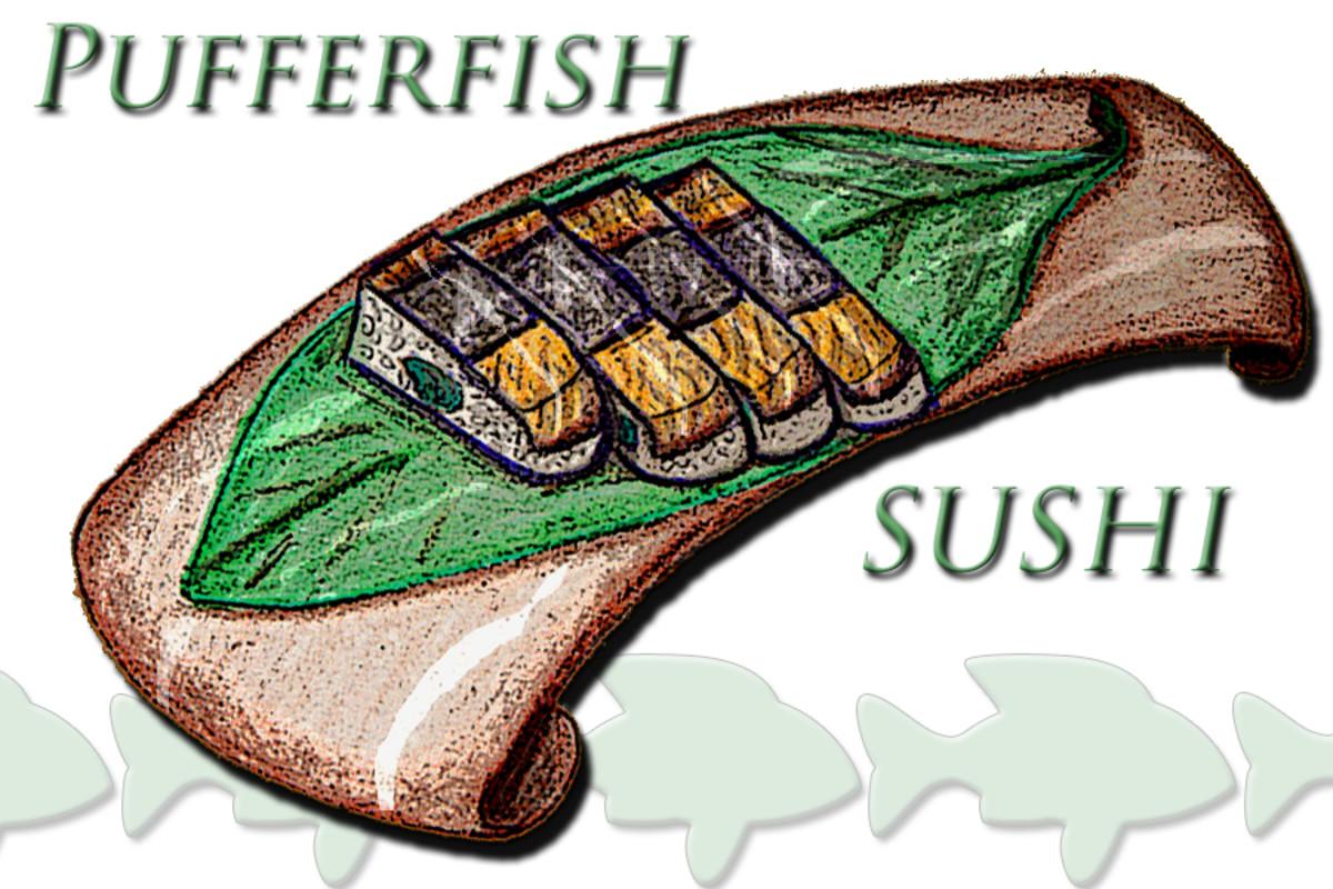 Fugu Sushi Tray