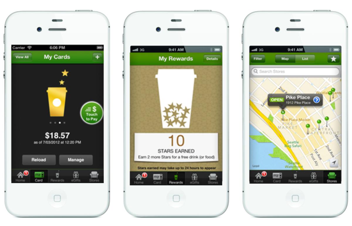 the Starbucks app