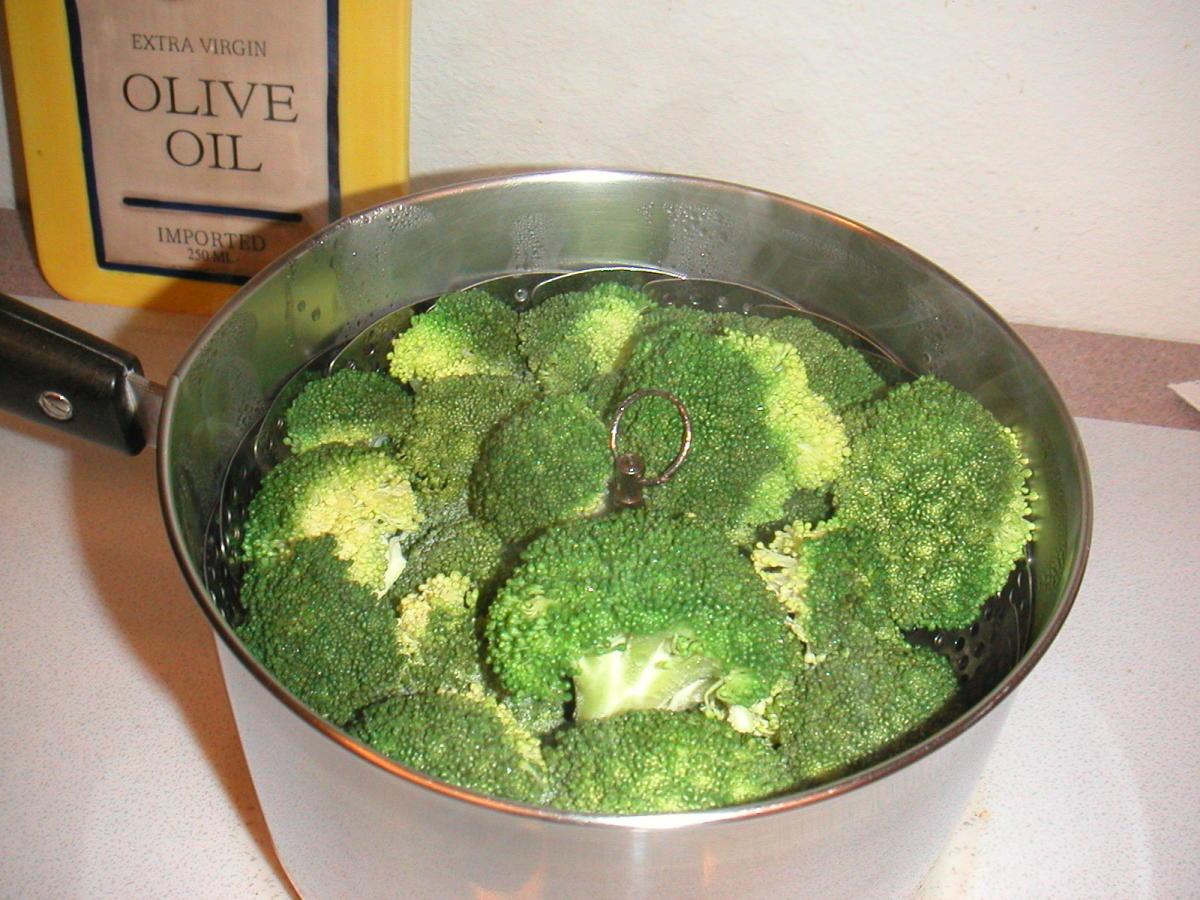 Simmer over medium heat until steam forms.