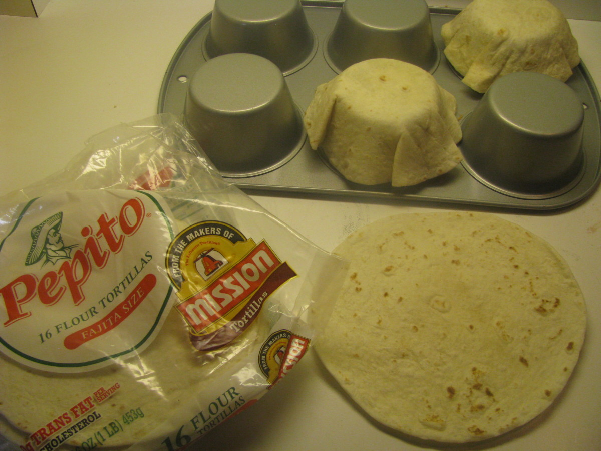 How to Make Tortilla Bowls
