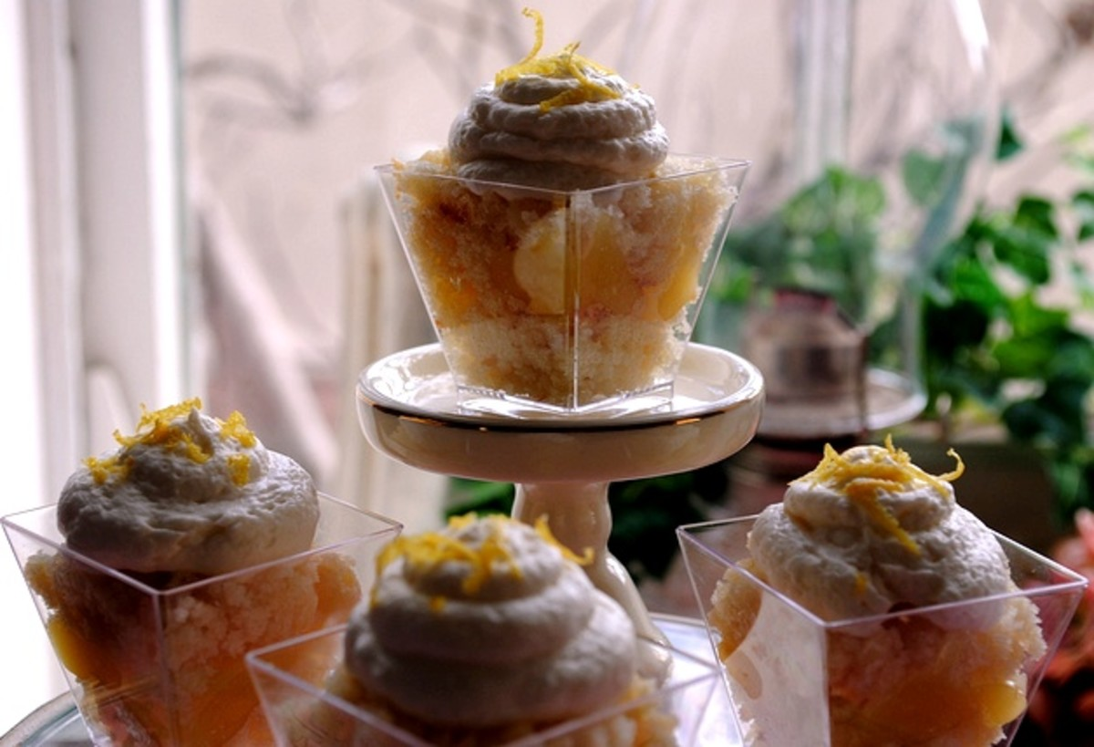 Beautiful Trifle Desserts for One