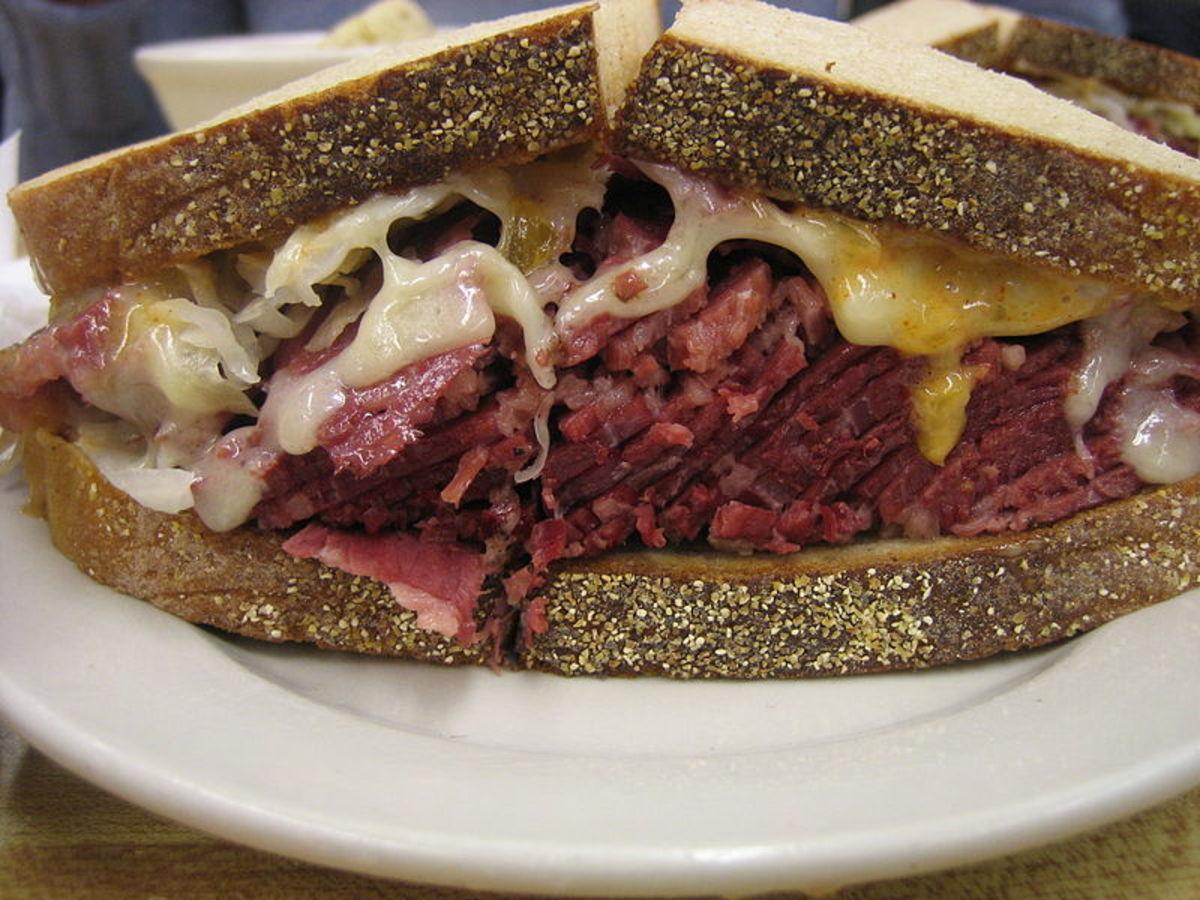Reubens Sandwich from the USA