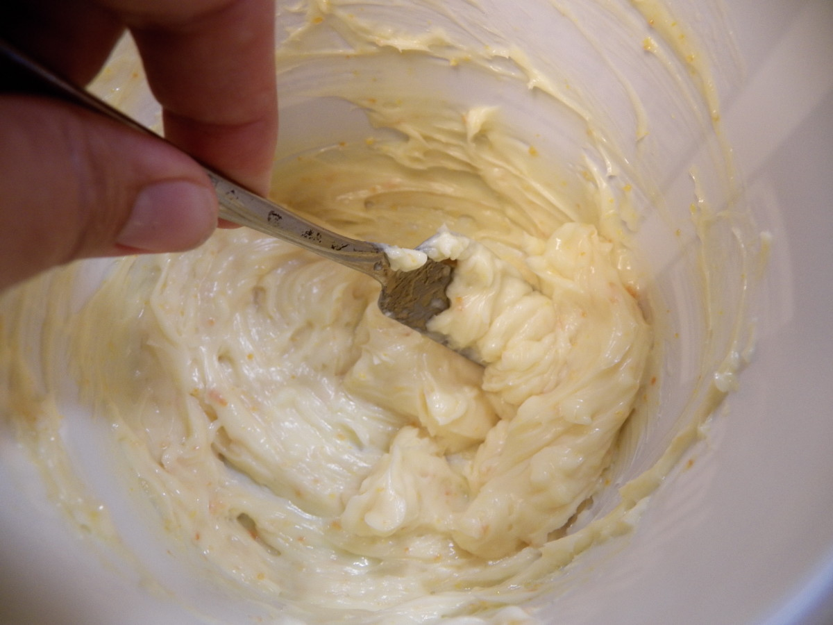 4. Mix with a fork until well blended. It is that easy!  Store in the refrigerator or in a butter crock.