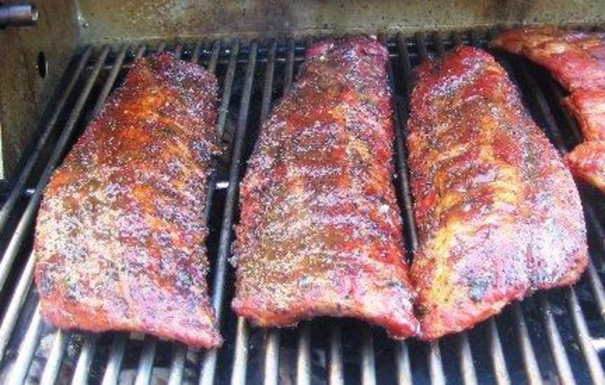 I think you'll find that these ribs are chewy, firm, and oh so delicious.