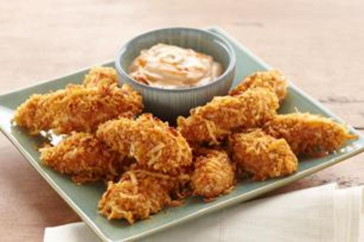 Coconut Chicken Fingers Have Always been One Of My Favorites. They Are So Delicious.