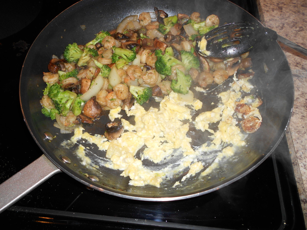 Scrambled eggs Chinese food style