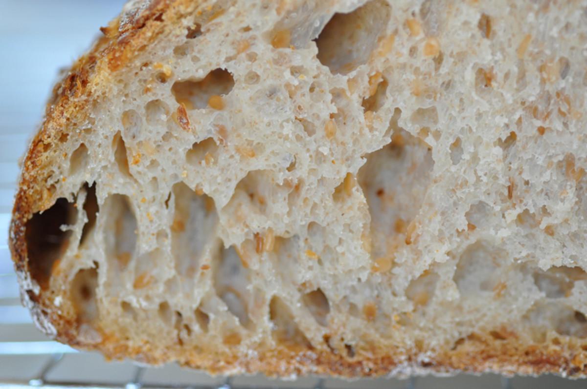 Cross-section of Sesame Bread. Image: © Siu Ling Hui