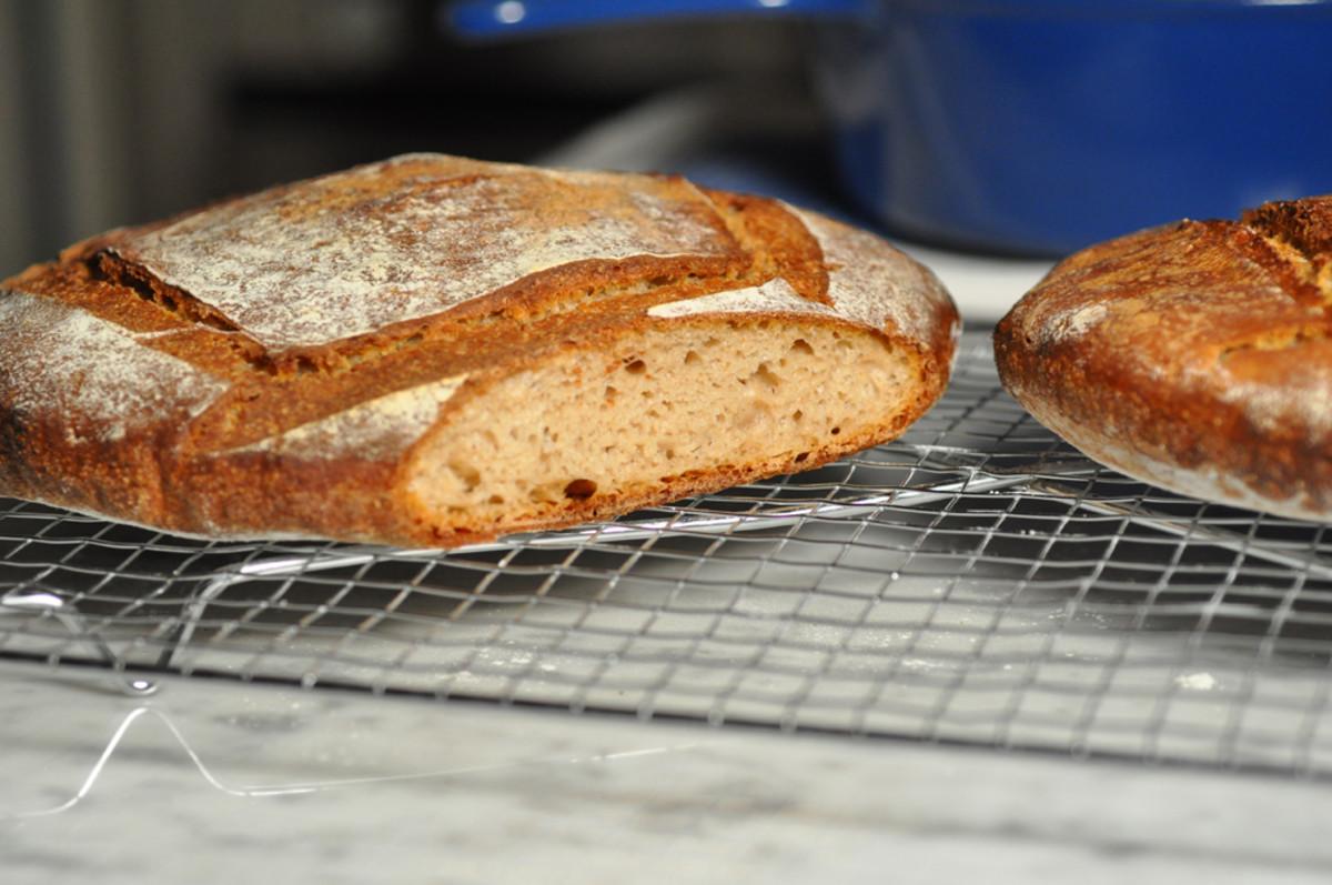 Buckwheat flour bread. Image: © Siu Ling Hui