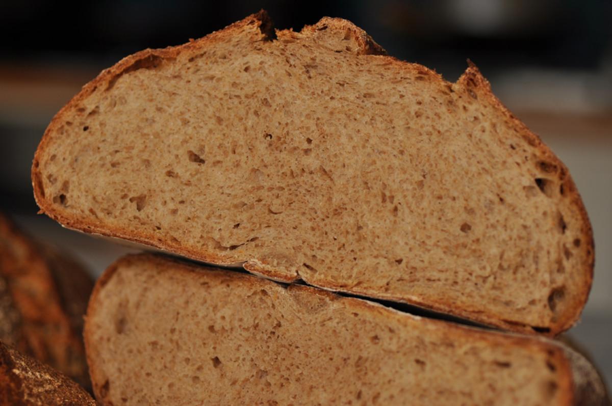 Crumb of the Pain Cordon de Bourgogne. Image: © Siu Ling Hui
