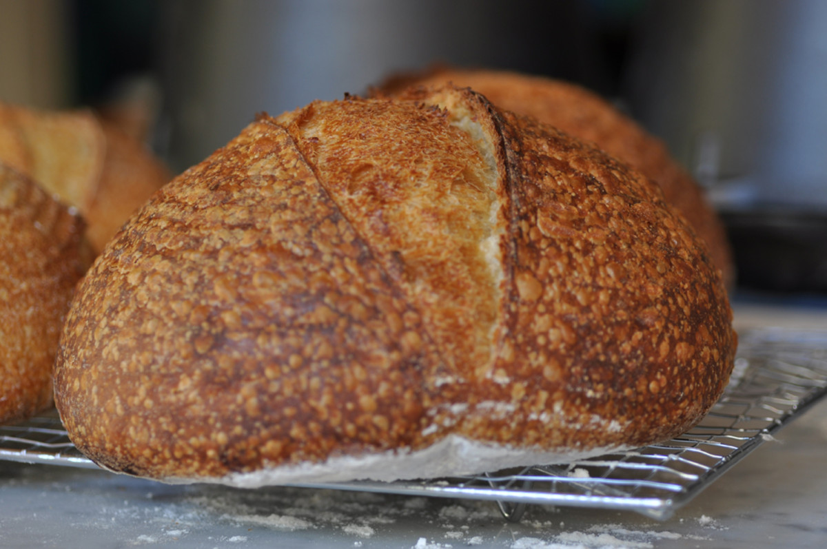 Salt fermented sourdough made with 100% baker's flour. Image: © Siu Ling Hui