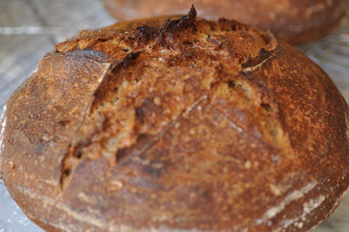Einkorn loaf Image: © Siu Ling Hui