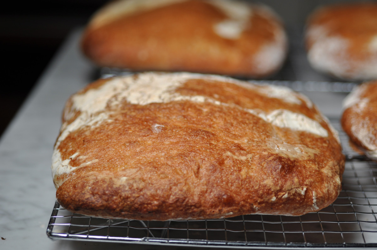 Another of the ciabatta loaves. Image: © Siu Ling Hui