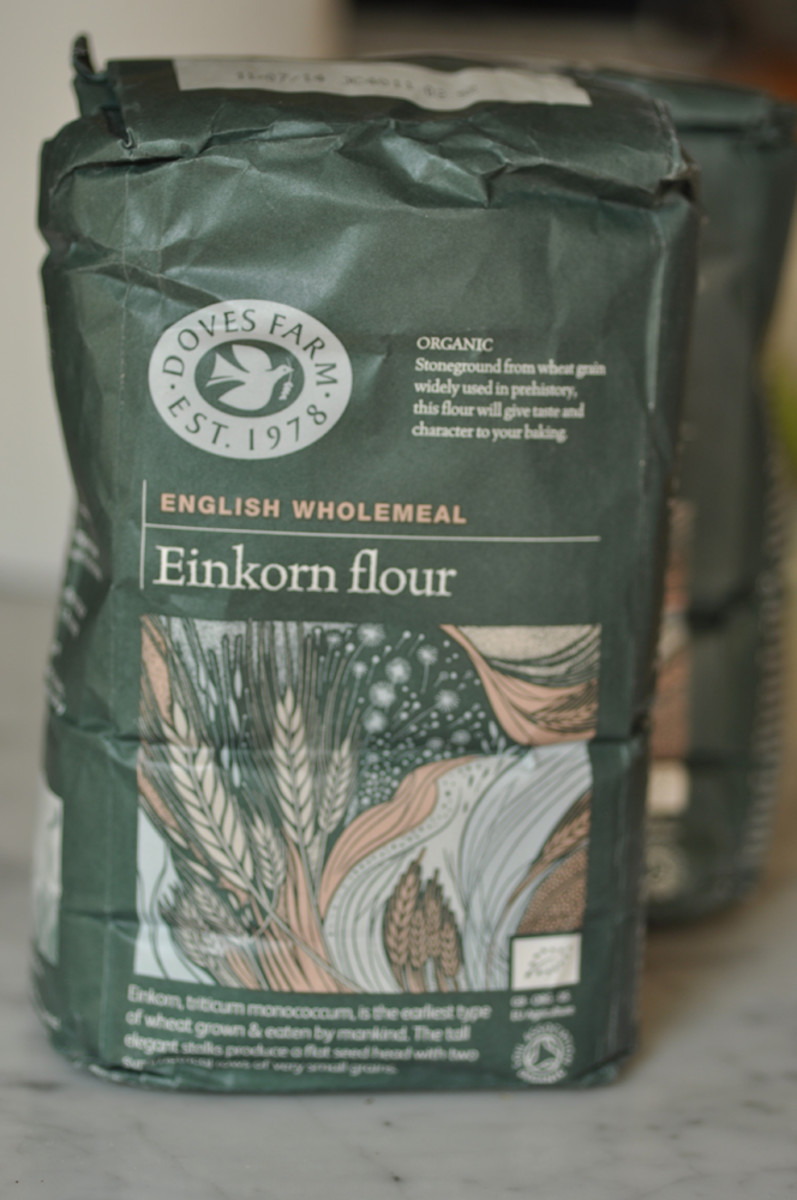 The Einkorn flour, a UK flour bought in Malaysia and brought back to Australia! Image: © Siu Ling Hui