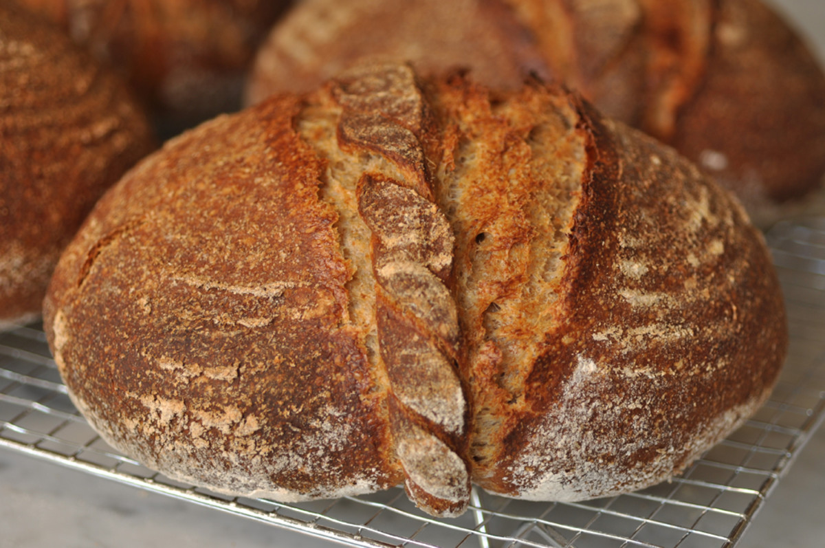 Pain Cordon de Bourgogne baked in Sept 2014. What a difference 2 years of bread making practice does! Image: © Siu Ling Hui