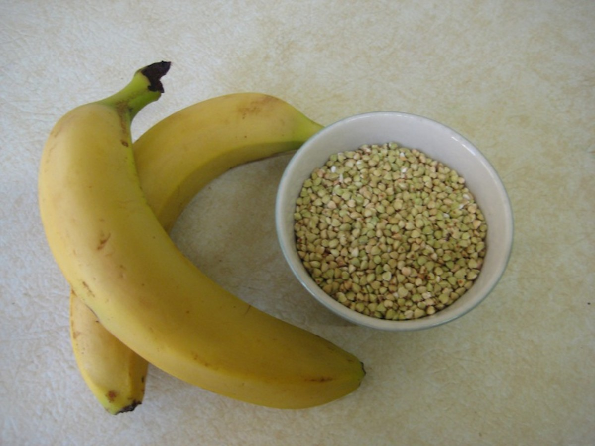 Main Ingredients: Banana and Buckwheat