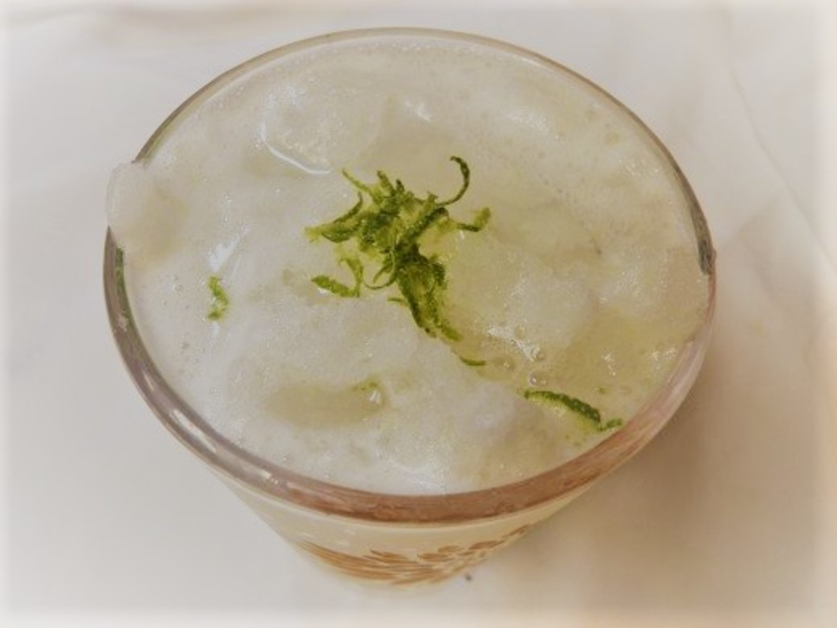 Top it with fresh lime zest