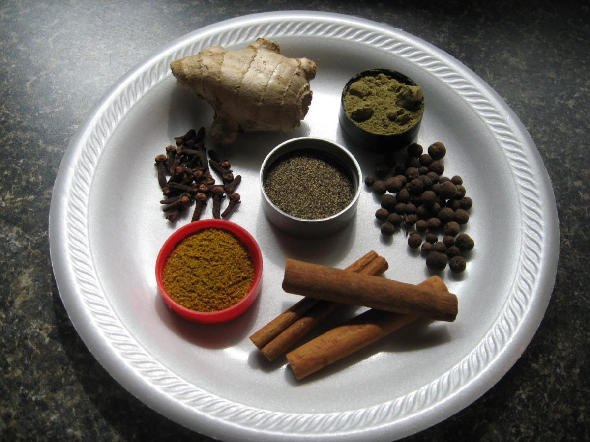Jamaican Jerk Sauce - spices