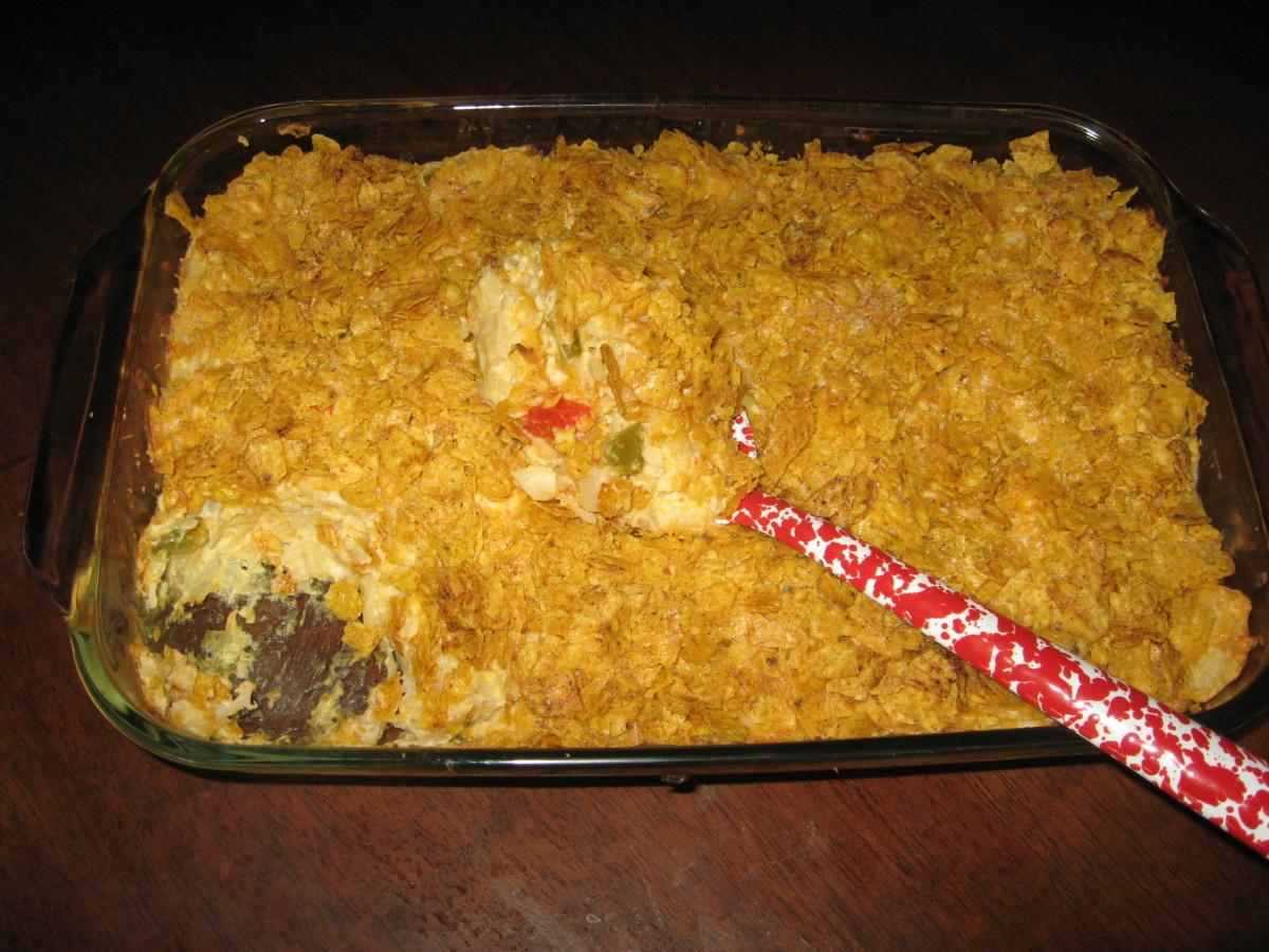 Crab Casserole Recipe