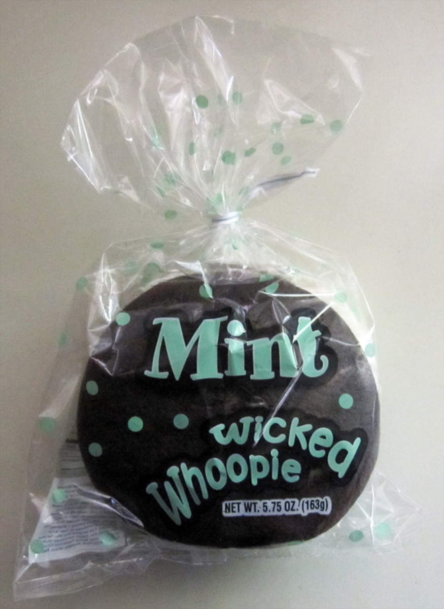 An authentic mint Wicked Whoopie that we bought during one of our visits to Maine.