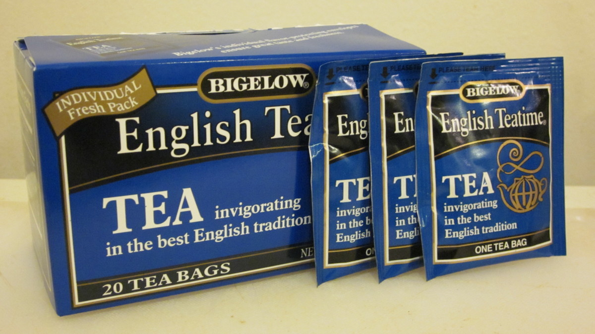 English Teatime by Bigelow is one of my favorite black teas.
