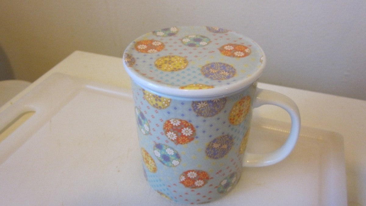 Cover the cup while tea steeps.