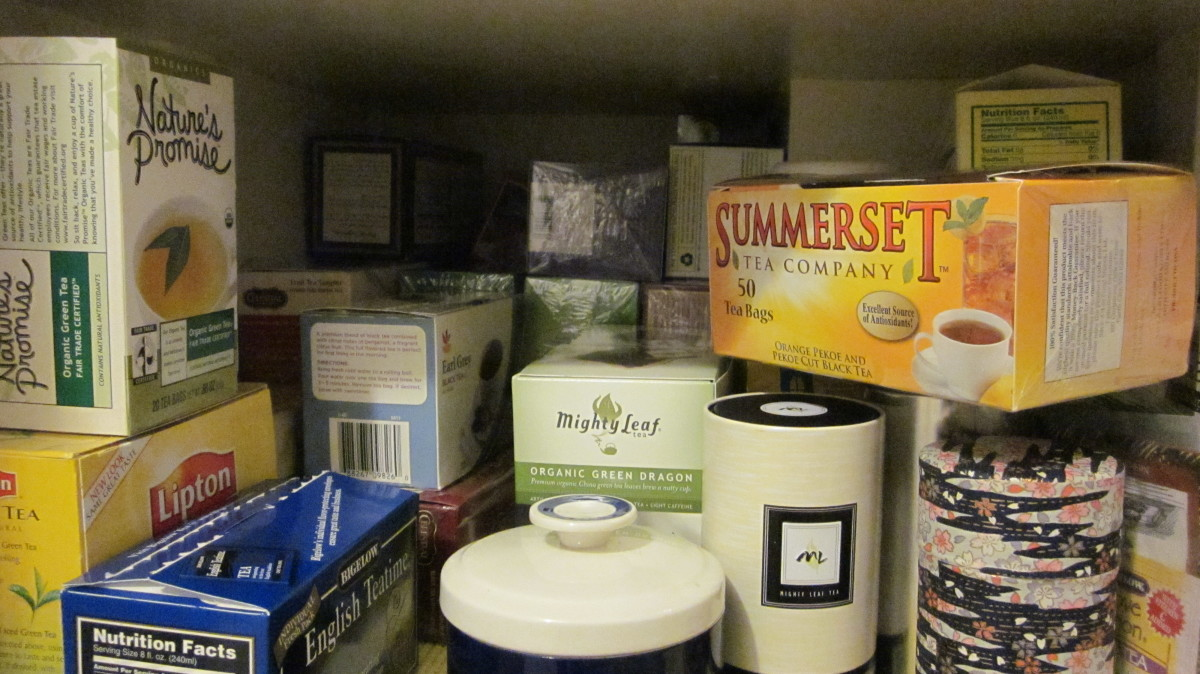 My tea cupboard is chock full of many varieties.