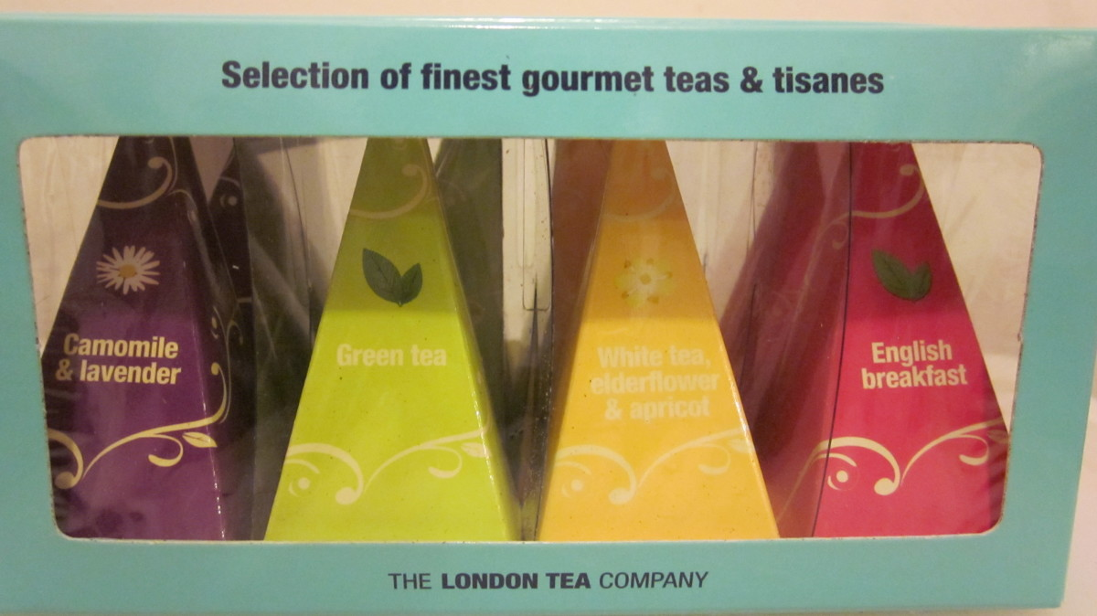 Gourmet teas come in many different flavors.