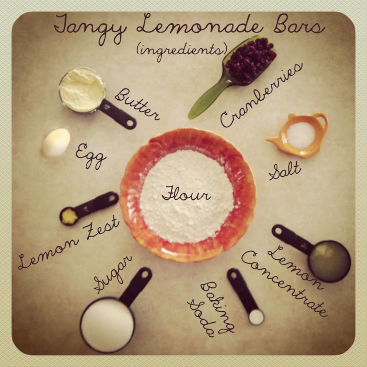 Simple Dessert Ingredients
